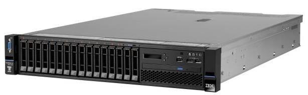 IBM Lenovo x3650 M5, Xeon 6C E5-2603v3 85W 1.6GHz/1600MHz/15MB, 1x8GB, O/Bay HS 2.5