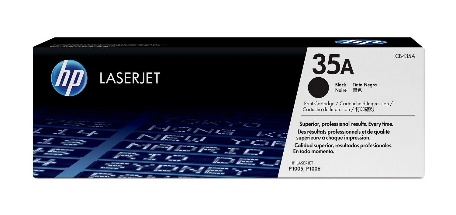 HP toner black do LaserJet P1005/P1006 (1500str)