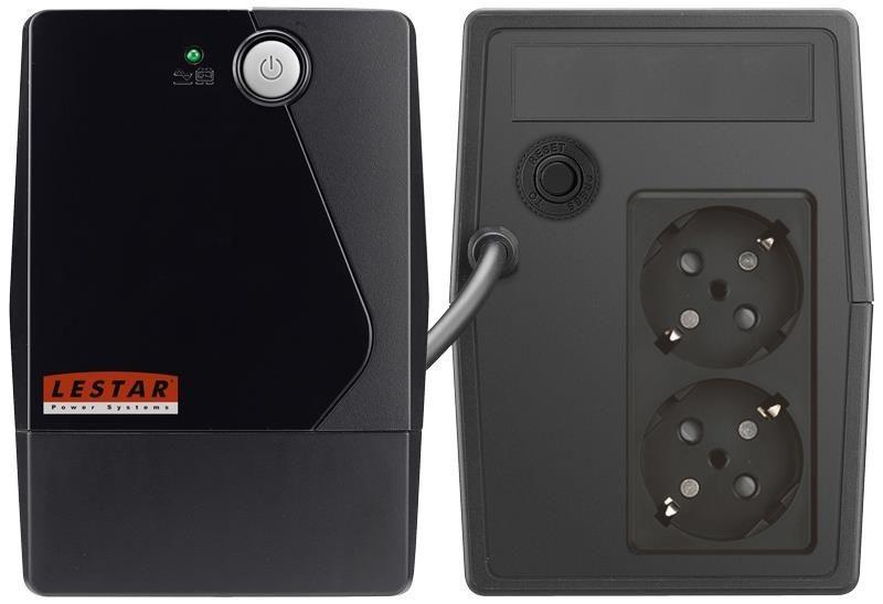 Lestar UPS A-850S AVR 2xSCH BL
