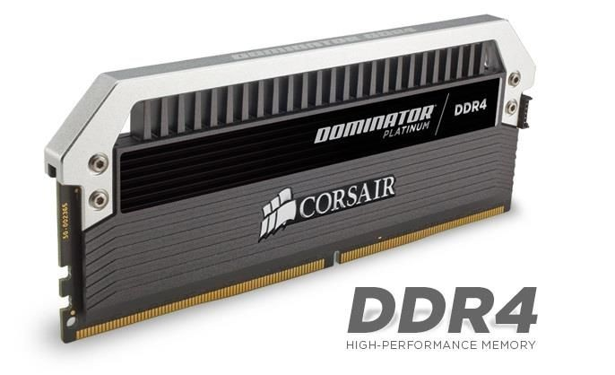 Corsair Dominator Platinum 4x8GB 2666MHz DDR4 CL15 Unbuffered 1.2V