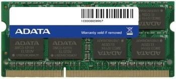 A-Data 4GB 1600Mhz DDR3 CL11 SO-DIMM 1.5V