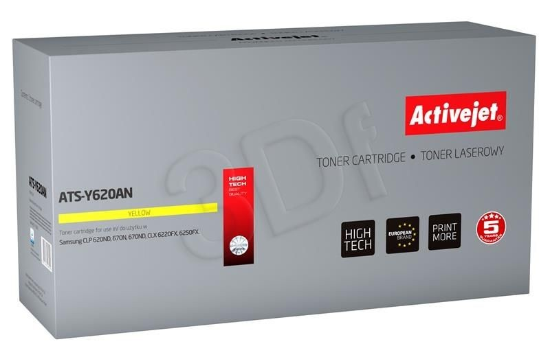 ActiveJet Toner ActiveJet ATS-Y620AN | Yellow | 4000 pp | Samsung CLT-Y5082L