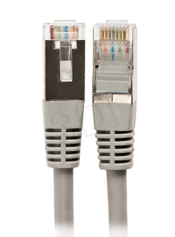 A-LAN Okablowanie strukturalne Patch-cord FTP kat.5e, 0.5m, szary