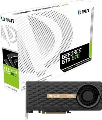 Palit KARTA PCI-E 4096MB DDR5 GEFORCE GTX970 256bit 3xDVI/mHDMI/mDP retail /PALIT