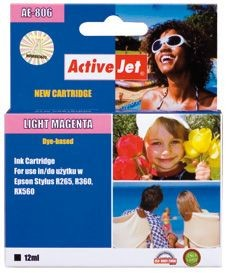 ActiveJet Tusz ActiveJet AE-806 | Light magenta | 13,5 ml | Chip | Epson T0806