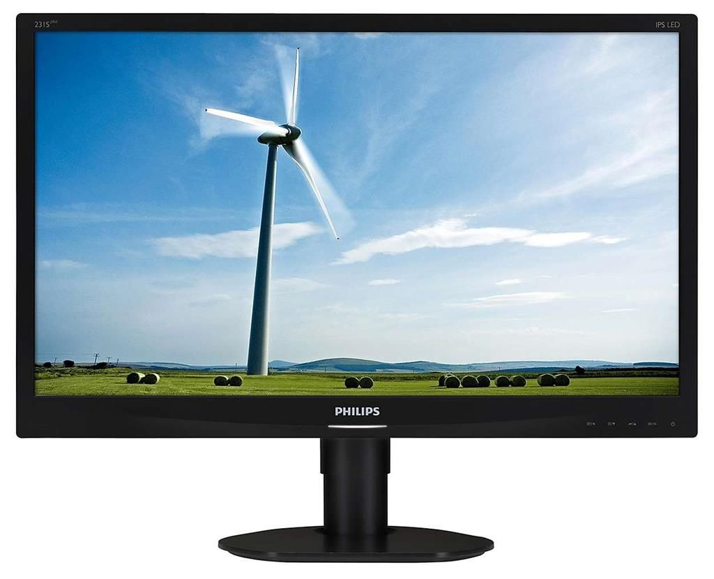 Philips Monitor 231S4QCB, 23'', D-Sub/DVI-D