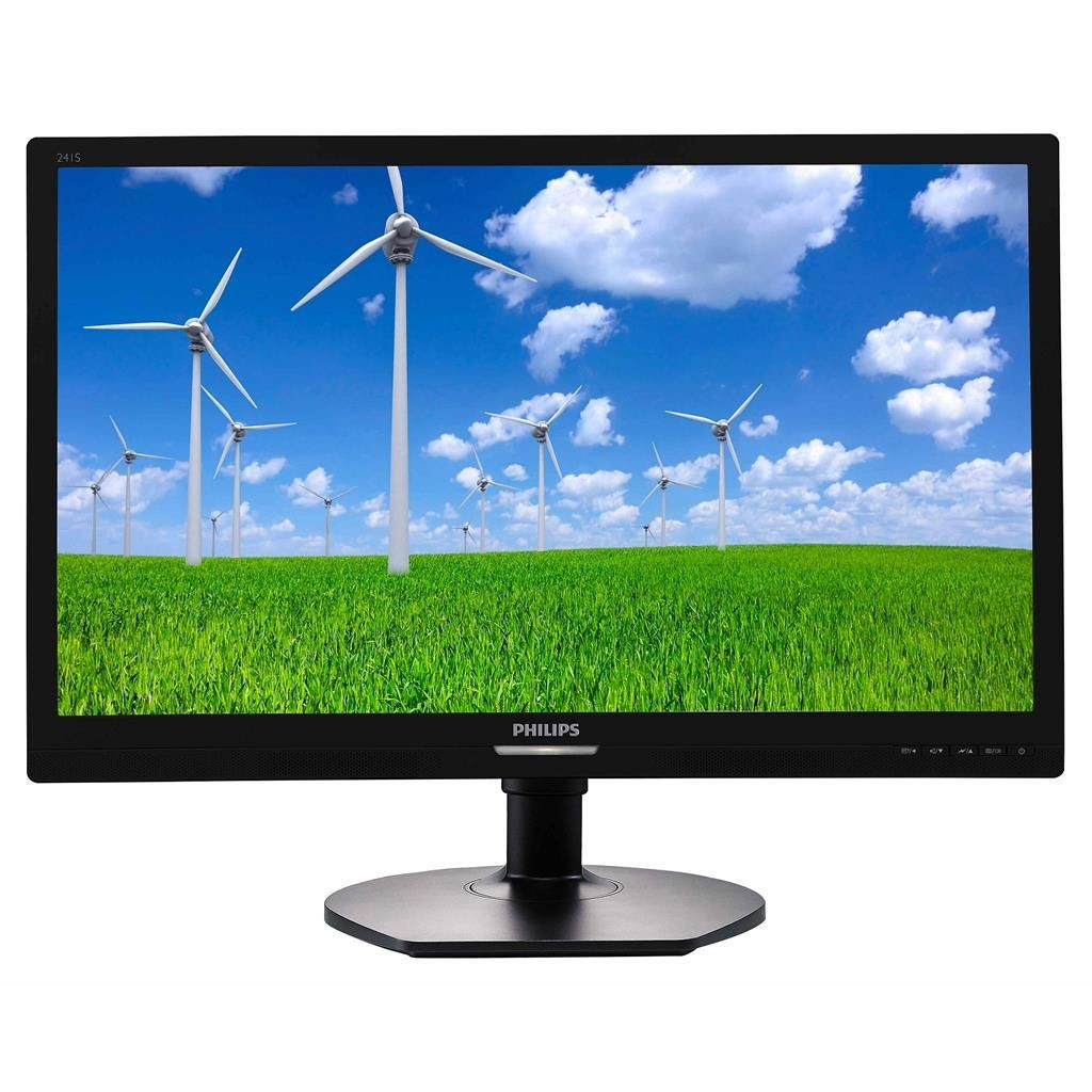 Philips Monitor 241S6QYMB, 23,8''panel IPS, D-Sub/DVU/DP, głosniki