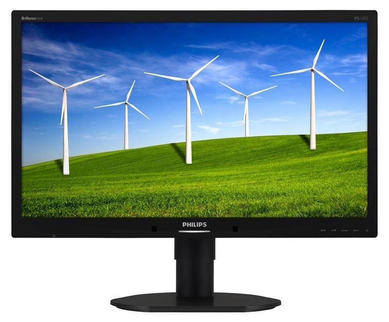 Philips Monitor 231B4QPYCB FHD,23'', D-Sub/DVI-D/DP