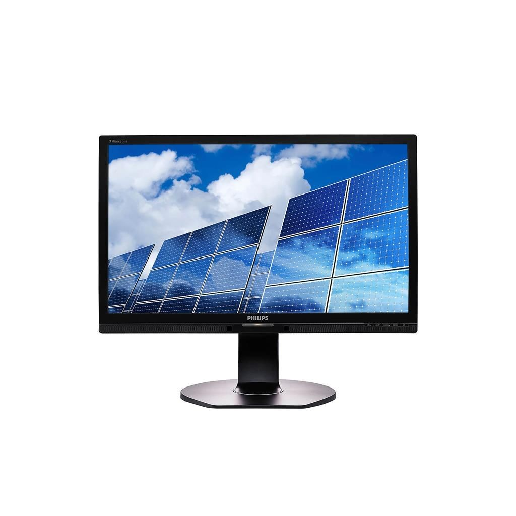 Philips Monitor 241B6QPYEB 23,8'', 5ms, D-Sub, DVI-D, DP, VESA