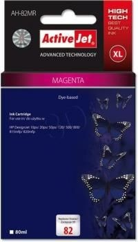 ActiveJet Tusz ActiveJet AH-82MR magenta | HP C4912A HP 82