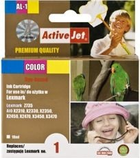 ActiveJet Tusz ActiveJet AL-1 | Color | 18 ml | Regenerowany | Lexmark 18C0781E