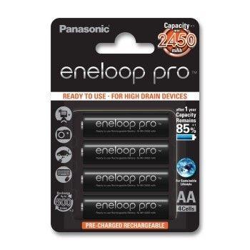 Panasonic ENELOOP PRO AA 2450 mAh 500CYKLI 4SZT