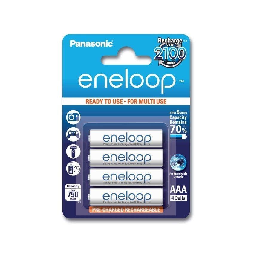 Panasonic ENELOOP AAA 750 mAh 2100 CYKLI 4SZT