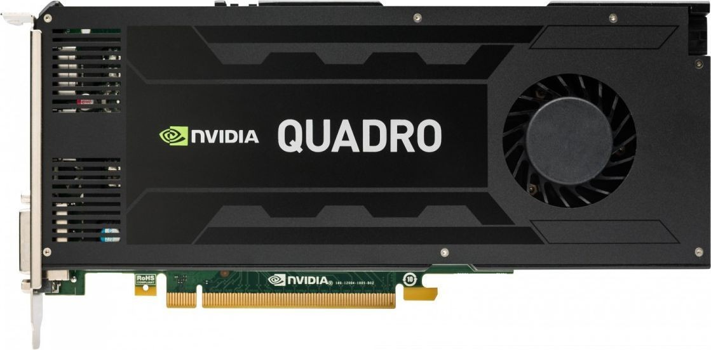 HP Inc. NVIDIA Quadro K4200 4GB 2xDP 1xDVI J3G89AA