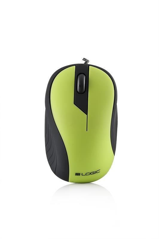 ModeCom Przewodowa Mysz Optyczna LM-14 zielona