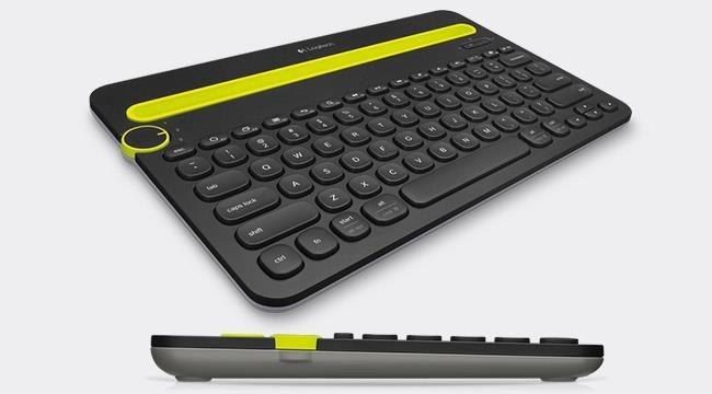 Logitech Multi-Device Keyboard K480 - Czarna - US - BT