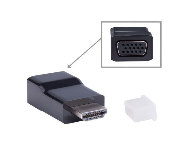 NATEC adapter HDMI-A(M) -> VGA (F) Extreme Media, blister