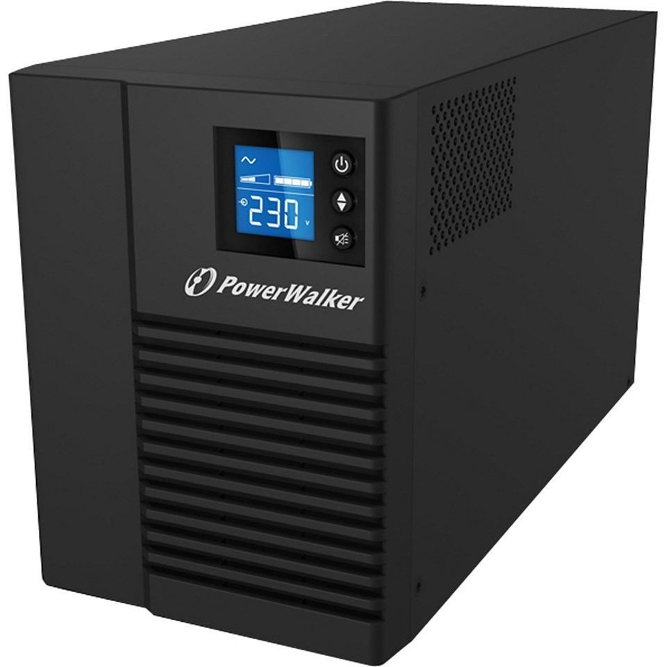 Power Walker UPS LINE-INTERACTIVE 1000VA 8X IEC 230V OUT, PURE SINE WAVE, RJ11/45 IN/OUT, USB HID, LCD