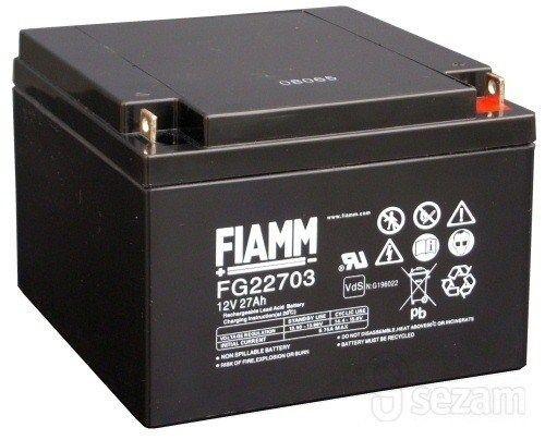 CyberPower Baterie - Fiamm FG22703 (12V/27,0Ah - M5)