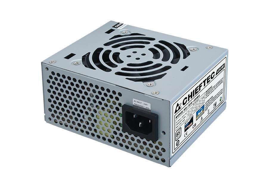 Chieftec zasilacz SFX serii SMART - SFX-450BS, 450W bulk, 8cm fan, aktywne PFC