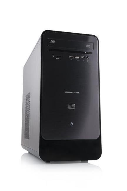 ModeCom Obudowa LING Mini USB 3.0 x 1 / USB 2.0 x 2 / KENSINGTON HOLE