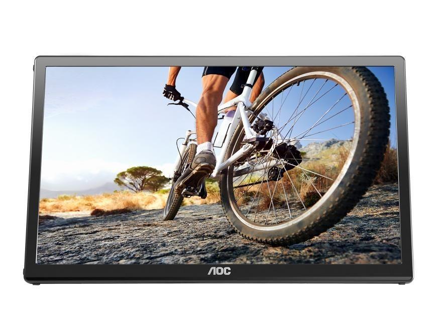 AOC Monitor AOC E1759FWU 17.3, HD+, USB 3.0, pivot