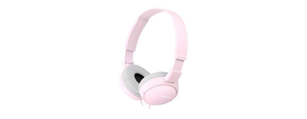 Sony Słuchawki nauszne skladane ZX różowe
