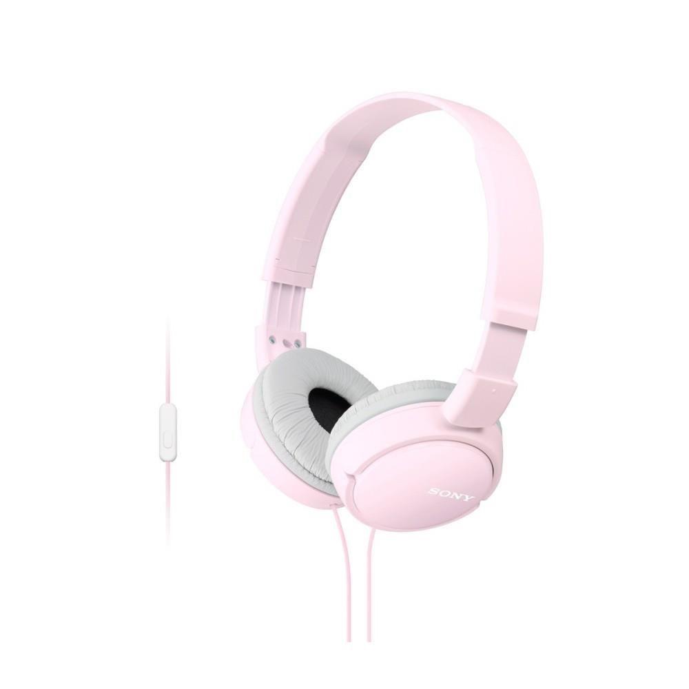 Sony Słuchawki nauszne składane ZX różowe AP ( z mikrofonem)