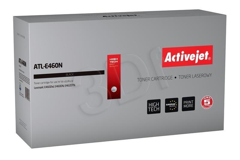 ActiveJet Toner ActiveJet ATL-E460NX | Czarny | 15000 pp | Lexmark E460X21E