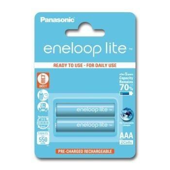 Panasonic Akumulatorki Eneloop Lite AAA 550 mAh 2 SZT