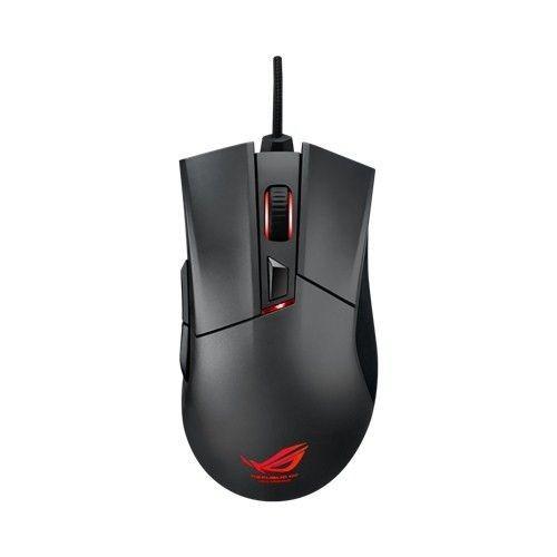 Asus ASUS Mysz Gamingowa ROG Gladius 6400 DPI FPS, przełączniki Omron, 6 klawiszy