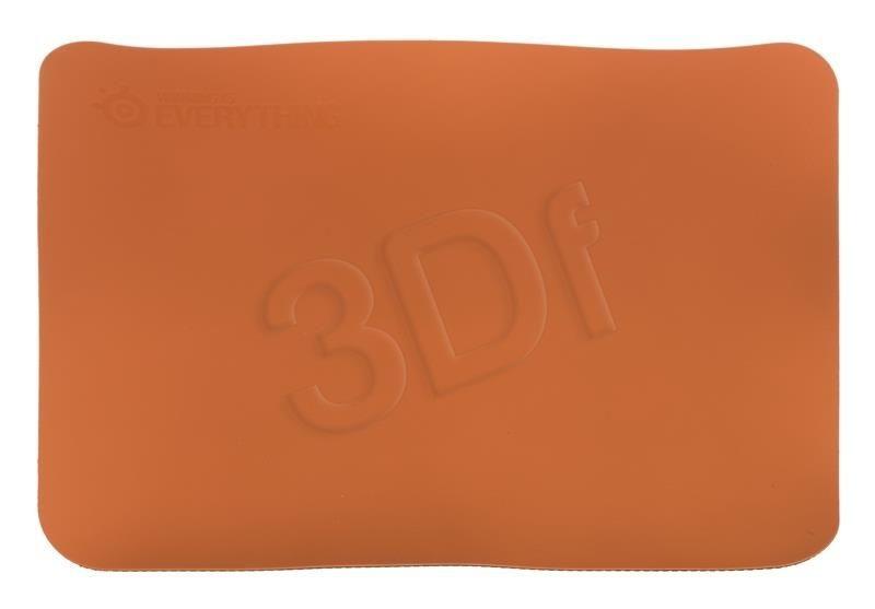 SteelSeries Steelseries podkładka pod mysz DEX 320x270x2mm ( czarno-pomarańczowa)