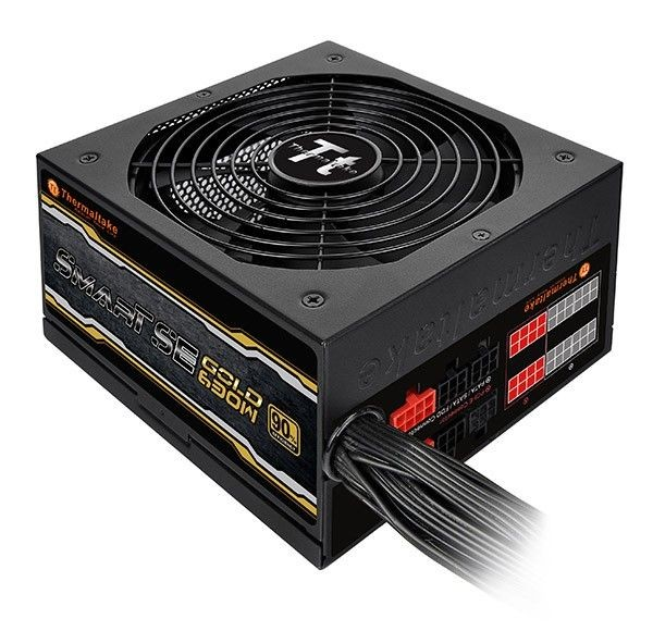 Thermaltake Smart SE 630W Modular (sprawność 80+ Gold dla 230V, 2xPEG, 140mm, Single Rail)