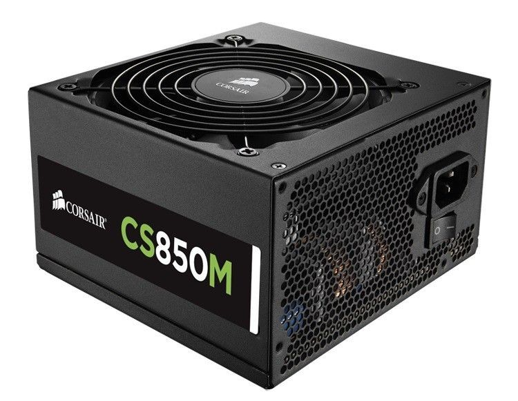 Corsair zasilacz CS850M, 850W, EU Version, Builder Series