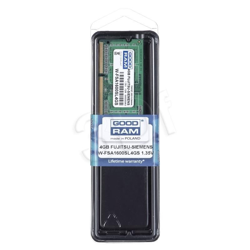 GoodRam W-FSA1600SL4GS 4GB Fujitsu-Siemens Notebook