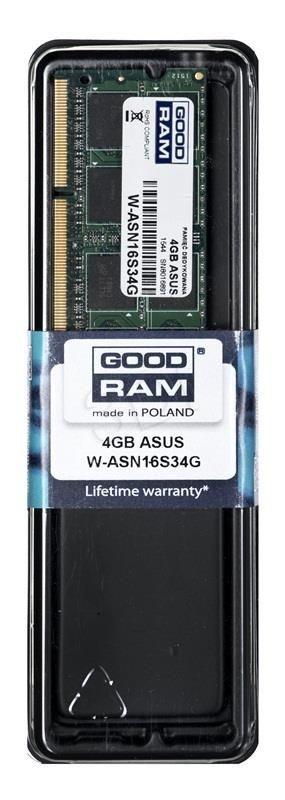 GoodRam Notebook Asus 4GB W-ASN16S34G