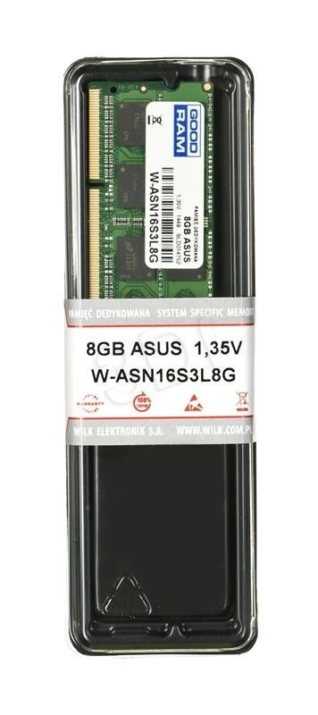 GoodRam Notebook Asus 8GB LV W-ASN16S3L8G