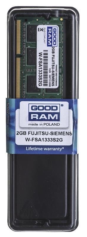 GoodRam DED.NB W-FSA1333S2G 2GB 1600MHz DDR3