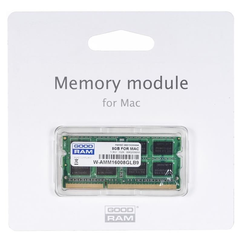 GoodRam DDR3 8GB/1600 for APPLE SODIMM LV