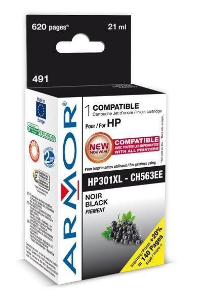 Armor cartridge pro HP DJ 1510 černá, 21 ml (CH563EE) (náhrada za K20319 )