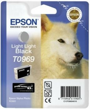 Epson wkład atramentowy light light black do Stylus Photo R2880