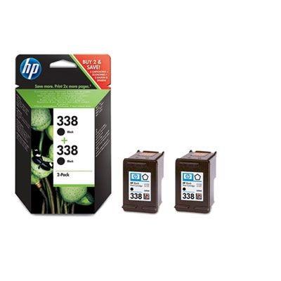 HP wkład atramentowy black No. 338 do DJ 5740 (2-pack)