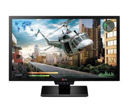 LG Monitor LCD 24GM77-B 24'' TN, FHD, 1ms, D-Sub, DVI-D, DP, 2xHDMI, USB, czarny