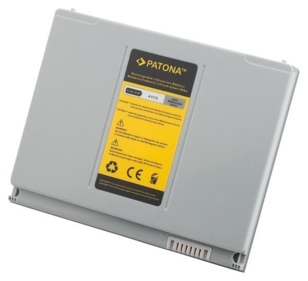 Patona Baterie Patona pro APPLE Macbook Pro 15 5600mAh 10,8V, stříbrná