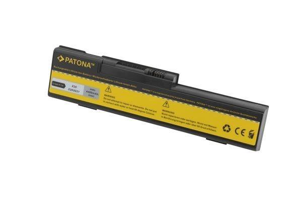 Patona Baterie Patona pro IBM Thinkpad X20/X21 4400mAh Li-Ion 10,8V