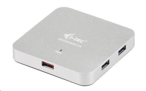 Pretec i-tec USB 3.0 Metal Charging HUB 4+1 Port with power adapter, 4x USB 3.0 port
