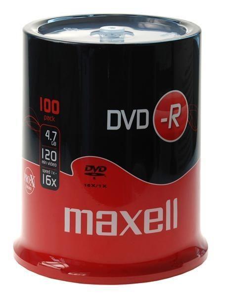 Maxell DVD-R 4,7GB 16x CAKE 100