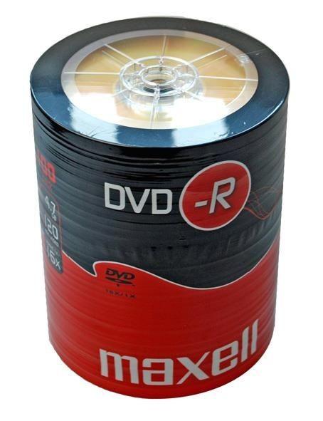 Maxell DVD-R 4,7 GB 16x SZPINDEL 100