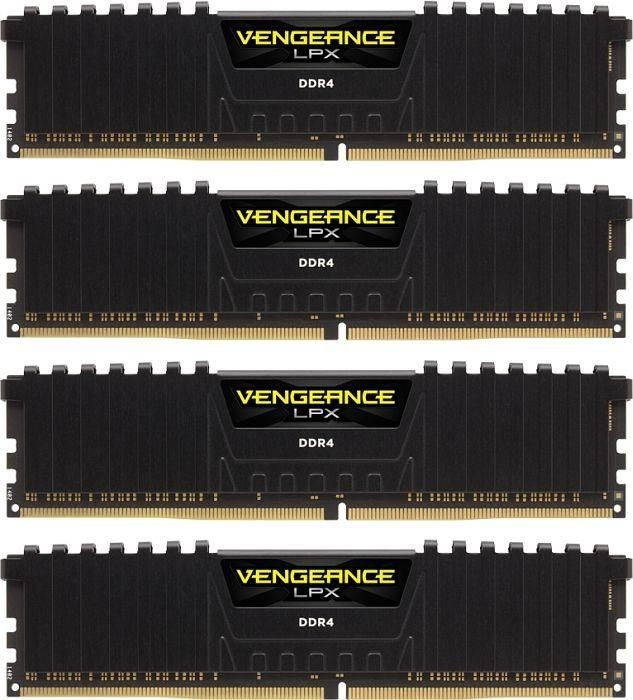 Corsair Vengeance LPX 4x8GB 2666MHz DDR4 CL16 DIMM 1.2V, Unbuffered