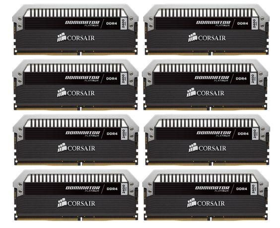 Corsair Dominator Platinum 8x8GB 2400MHz DDR4 CL14 1.2V, XMP 2.0